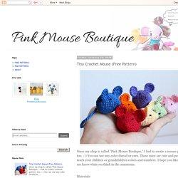 Tiny Crochet Mouse (Free Pattern)