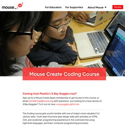 Mouse Create Coding Course