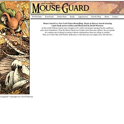 Mouse Guard Official Site