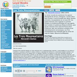 Les Trois Mousquetaires d' Alexandre Dumas - French - Loyal Books