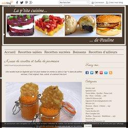Mousse de carottes et tuiles de parmesan