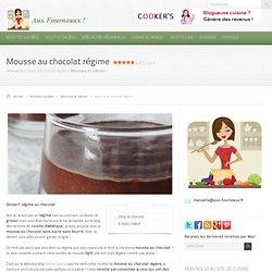 Mousse au chocolat régime