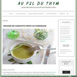 Flan de haricots verts à l'amande et au parmesan