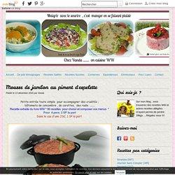 Mousse de jambon au piment d'espelette