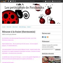 Mousse à la fraise (thermomix)