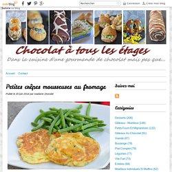 Petites crêpes mousseuses au fromage - Blog cuisine avec du chocolat ou Thermomix mais pas que
