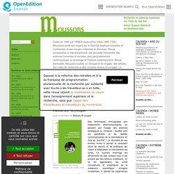 Moussons - Recherche en sciences humaines sur l'Asie du Sud-Est