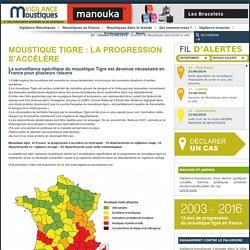 VIGILANCE MOUSTIQUES 21/06/16 Moustique Tigre : la progression s'accélère
