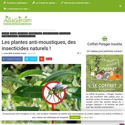 Les plantes anti-moustiques, des insecticides naturels