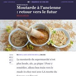 Moutarde à l'ancienne : retour vers le futur