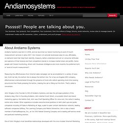 Social Media Analytics | Andiamo Systems