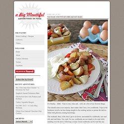 A Big Mouthful : Sausage and Potato Breakfast Bake