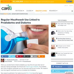 Regular Mouthwash Use Linked To Prediabetes And Diabetes