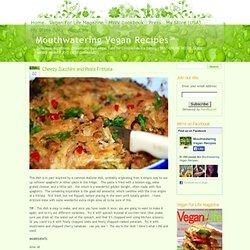 » Cheezy Zucchini and Pasta Frittata