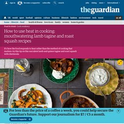 Mouthwatering lamb tagine and roast squash recipes