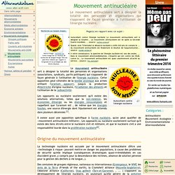 Mouvement antinucléaire