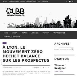 À Lyon, le mouvement zéro déchet balance sur les prospectus - Lyon Bondy Blog