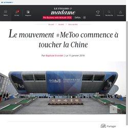 Le mouvement #MeToo commence à toucher la Chine - Madame Figaro