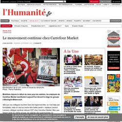 Le mouvement continue chez Carrefour Market