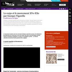 Le corps et le mouvement XVe-XXe<br />par Georges Vigarello