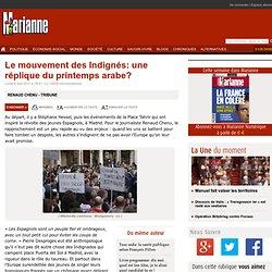 Le mouvement des Indignés: une réplique du printemps arabe?