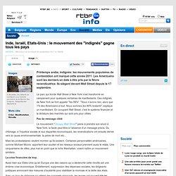 """Inde, Israël, Etats-Unis : le mouvement des """"indignés"""" gagne tous les pays"""