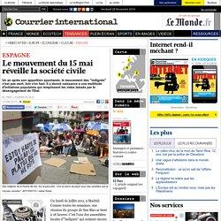 Le mouvement du 15 mai réveille la société civile
