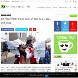Ce mouvement milite pour un revenu de base en France