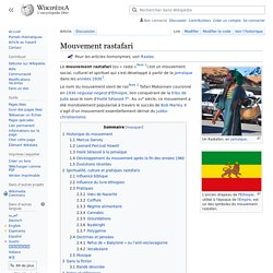 Mouvement rastafari