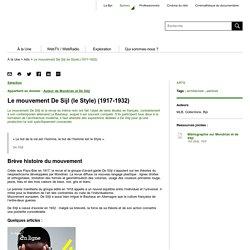 Le mouvement De Sijl (le Style) (1917-1932) - Balises - Bpi