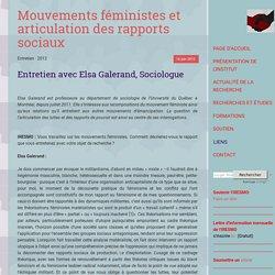 Mouvements féministes et articulation des rapports sociaux