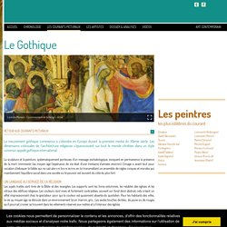 Le gothique et le style gothique international