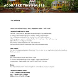 Movable Tiny Houses Western Australia