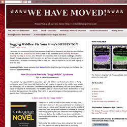 Sagging Middles: Fix Your Story's MUFFIN TOP!