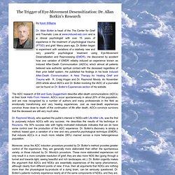 Allan Botkin - Experiencias cercanas a la muerte de la desensibilización de movimiento ocular