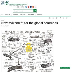 New movement for the global commons