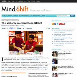 The Maker Movement Goes Global