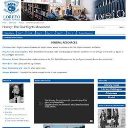 The Civil Rights Movement - History - LibGuides at Loreto Mandeville Hall - Toorak