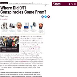 """9/11 Truth"" movement: How Alex Jones and Michael Ruppert founded it."