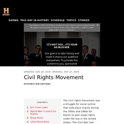 Civil Rights Movement: Timeline, Key Events & Leaders