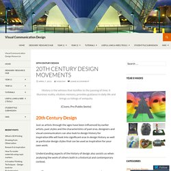 20th Century Design Movements