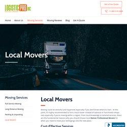 Plan Your Move With Experienced Local Movers In Denver