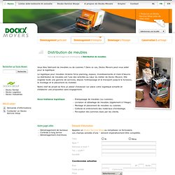 Dockx Movers - Distribution de meubles