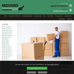 Movers International Can Move You Anywhere You Want To Go