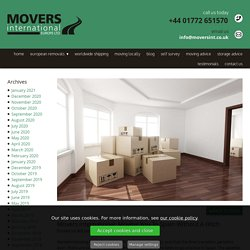 Movers International: Moving You To Spain Without A Hitch