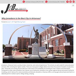 See Movers Facts on City of Jonesboro AR for Relocation