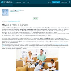 Movers & Packers in Dubai: ourarticle