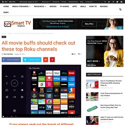 All movie buffs should check out these top Roku channels
