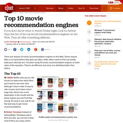Top 10 movie recommendation engines