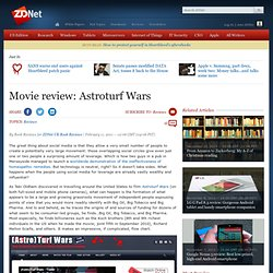 Movie review: Astroturf Wars